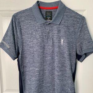 American Eagle polo shirt.